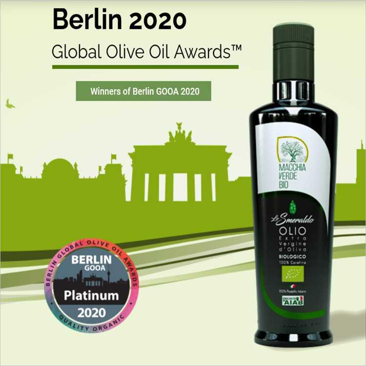 auszeichnung Platinum Award in Berlin 2020